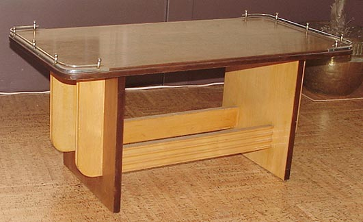 Art deco coffee tables for Coffee tables 18 inches wide